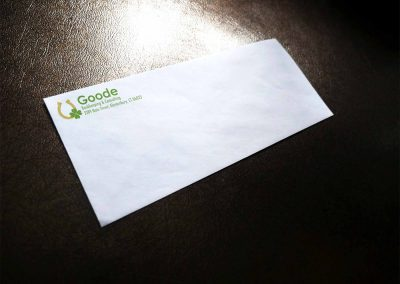 Goode Bookkeeping Envelope
