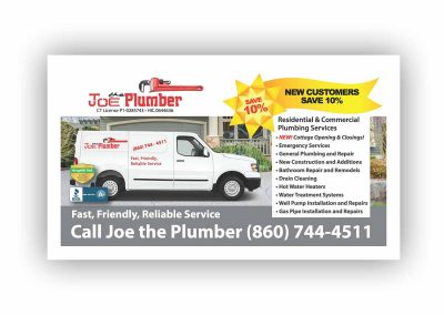 Joe The Plumber Direct Mail