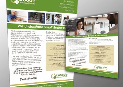 Goode Bookkeeping Poster Services