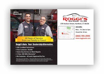 Roggie's Auto Service Direct Mail
