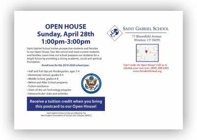ST GABES OPEN HOUSE POSTCARD